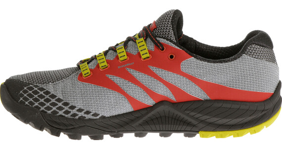 Merrell All Out Charge - Zapatillas para correr - amarillo/gris